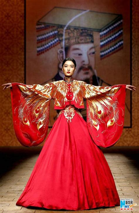 china fashion week ne tiger empress but embroidery