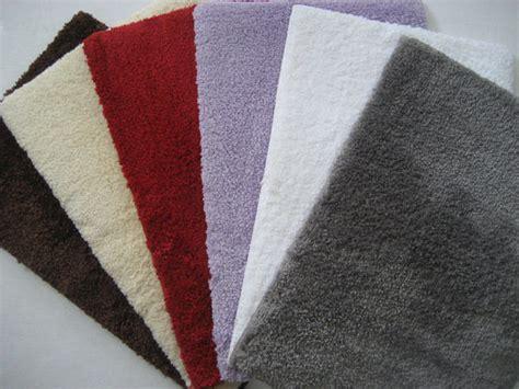 tapis chambre à coucher micro fibre jaune pourpre antidérapantes tapis de sol