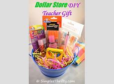 Easter gift baskets amazon grabimage dollar store diy teacher gift simplee thrifty negle Choice Image