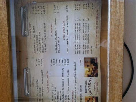 locanda giovanna bagno di romagna menu foto di locanda giovanna bagno di romagna