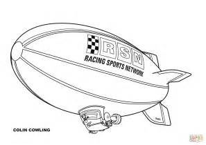 Kleurplaat Zeppelin by Disney Planes Blimp Colin Cowling Coloring Page Free