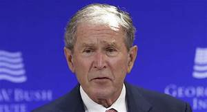 George W Bush There39s Clear Evidence Russia 39meddled39 In