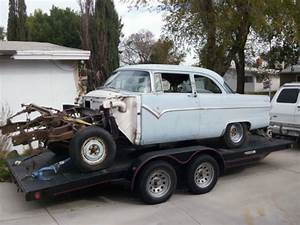 55 Ford 2dr Club Sedan Street Gasser Hot Rod Race Car