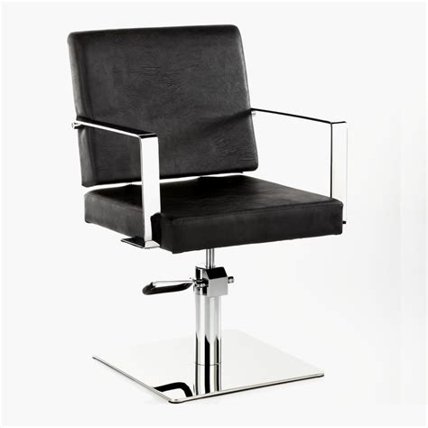 lisbon hydraulic styling chair in black direct salon