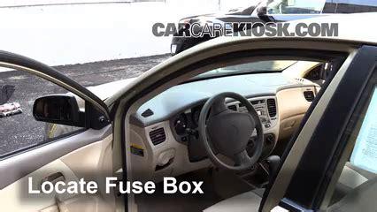 Interior Fuse Box Location Kia Rio