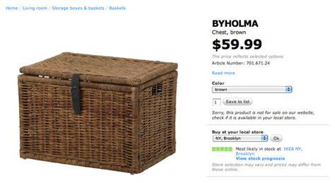 Ikea Byholma Chest