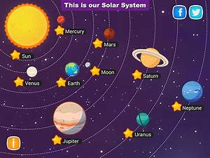 Solar System - Educational app for kids on Wacom Gallery