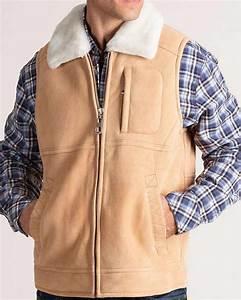 Mens Chest Size Chart Mens Sheepskin Leather Vest Fashion Leather Vest For Mens