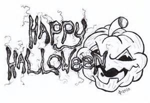 Happy Halloween Drawings