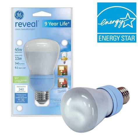 ge reveal 11 watt 45w r20 compact fluorescent flood