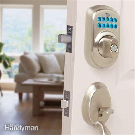 upgrade front door locks  keyless door locks