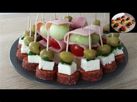 canape apero facile et rapide shewers aperitifs fast and easy aperitif dinatoire