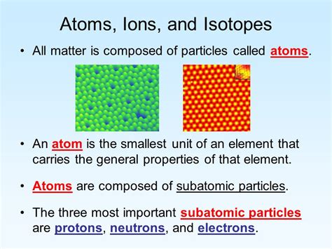 Atoms, Ions, And Isotopes  Ppt Video Online Download
