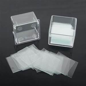 100PCS 22X22mm Blank Microscope Square Cover Glass ...