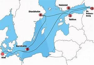 Seemeilen Berechnen Karte : kreuzfahrt durch die ostsee ~ Themetempest.com Abrechnung