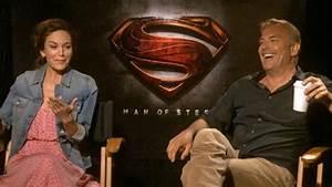 Kevin Costner, Diane Lane talk 'Man of Steel': 5 ...