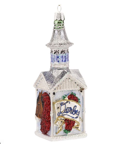 kentucky derby personalized ornament