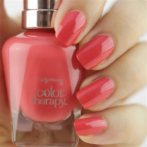 color sallys give your nails spa luxury with new sally hansen color