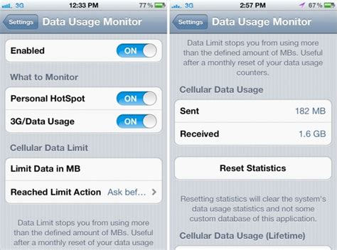 how to set data limit on iphone ways to cut data usage iphones smartntechs
