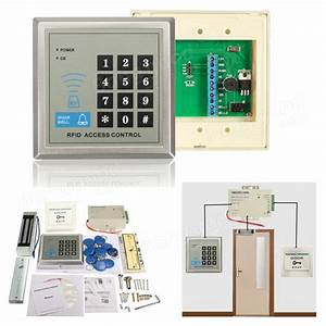 Rfid Access Control System Door Lock Package Price In