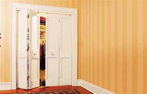 Bifold Closet Door Opening by How To Install Bifold Doors Diy Bifold Doors This