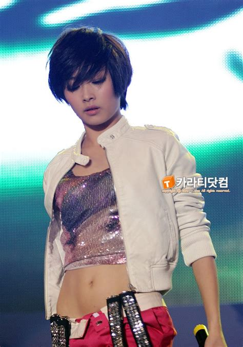 female kpop idols  hot  short hair
