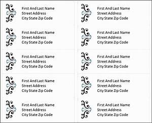 how to make address labels from excel 10 word address label template 16 per sheet