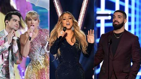 Taylor Swift critiquée, Mariah Carey et Drake célébrés ...