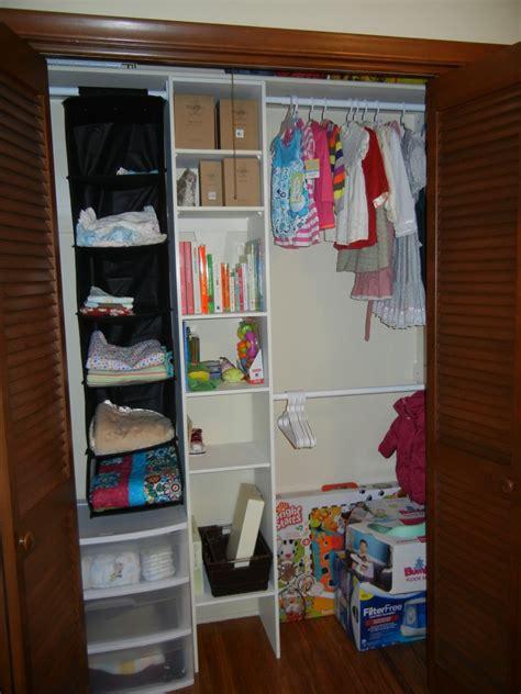 baby closet organizer baby nursery on a budget