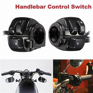 Motorcycle 25mm Diamater Handlebar Control Switch With