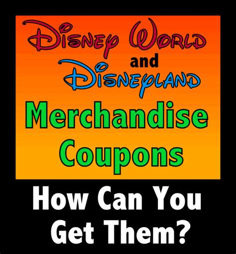 03896 Pos World Coupon by How Can You Get Merchandise Coupons For Disney World And
