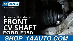 How To Replace Front Cv Shaft 04