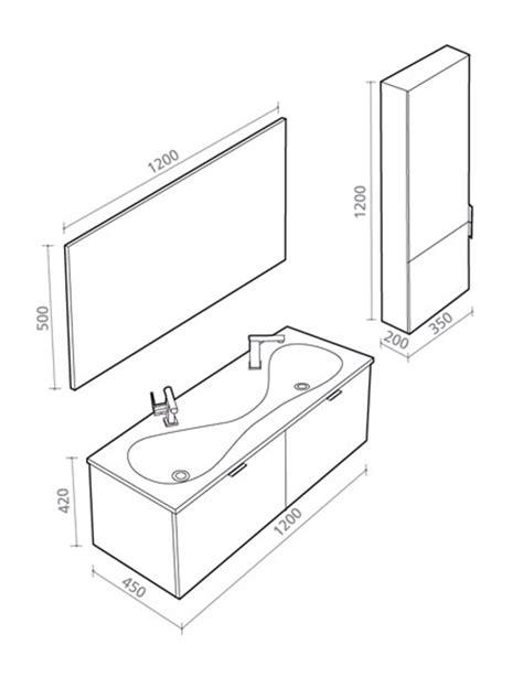Badezimmermöbel Maße by Sp 252 Lbecken Zeichnung M 246 Bel Design Idee F 252 R Sie Gt Gt Latofu