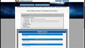how to make money on ebay using free generator for html With free ebay selling template