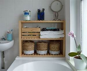 Badezimmer Regal Holz : pin von cami puentes auf bathroom redo ideas ikea ~ Watch28wear.com Haus und Dekorationen