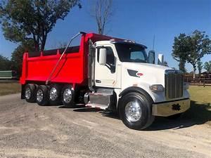 2017 Peterbilt 567 Quad Axle Dump Truck