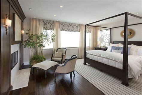 vibrant transitional master bedroom robeson design san