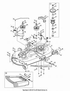 Mtd 13al795s004  2014  Parts Diagram For Mower Deck