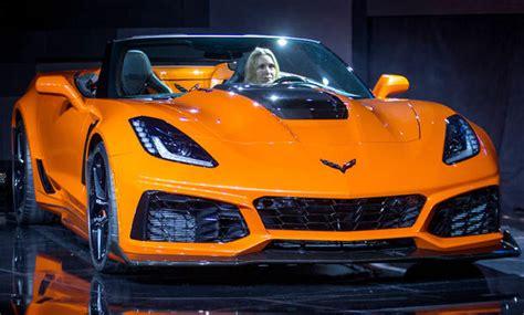 corvette zr cabrio  preis motor autozeitungde