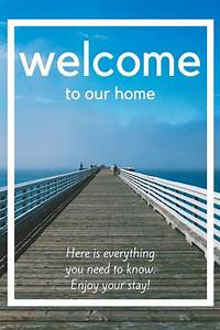 Everything You Need To Create A Welcome Book For Your Vacation Home Rental  10 Item Package