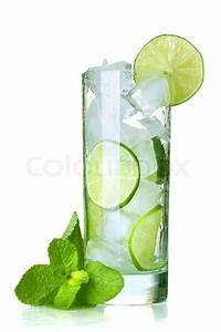 Kalk Von Glas Entfernen : glas wasser mit kalk eis und minze auf wei em hintergrund stockfoto colourbox ~ Bigdaddyawards.com Haus und Dekorationen
