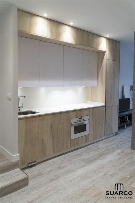 cocina estilo nordico abierta al salon cocinas suarco