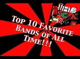 Top 10 Favorite Bands of All Time! | The Rock Critic ...