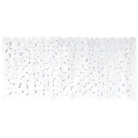 tapis pour le bain blanc anti d 233 rapant tendance planetebain