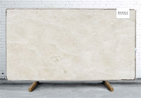 royal cream polished marble slab random