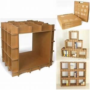 Module De Rangement En Carton Stri Cube De L39Atelier Chez Soi