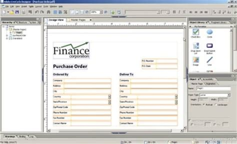 Adobe Livecycle Designer Templates by Livecycle Designer Es Form Fragment Tutorial Adobe