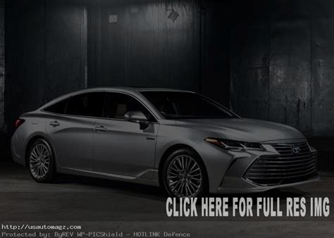2020 Toyota Avalon Redesign by 2020 Toyota Avalon Redesign Specs Release Date 2019
