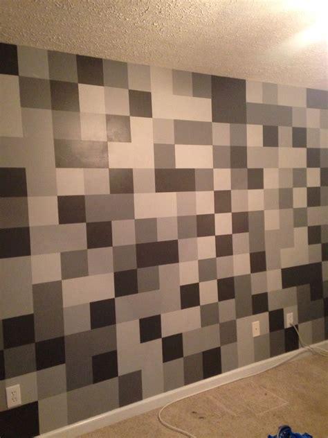 minecraft cobblestone bedroom wall minecraft room boys