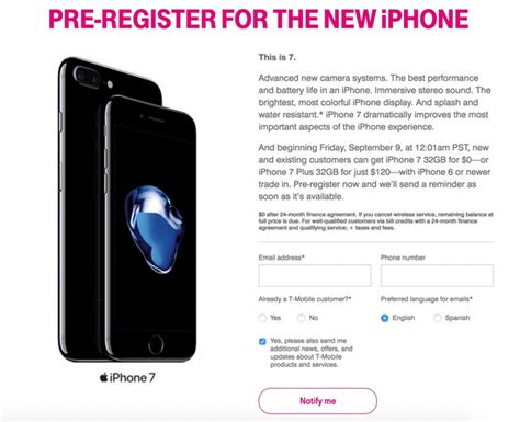 t mobile iphone trade in t mobile offers free iphone 7 with iphone 6 6s trade in 2979